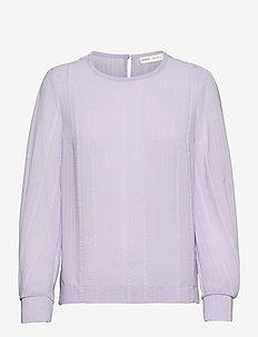 JesaraIW Blouse - långärmade blusar - light lavender