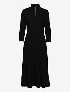 VeerIW Dress - midi kjoler - marine blue