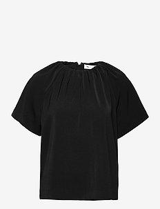 AdiaIW Top - kortærmede bluser - black