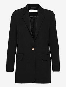 AilaIW Zella Long Blazer - oversized blazers - black