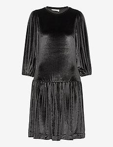 FarylIW Short Dress - midiklänningar - black