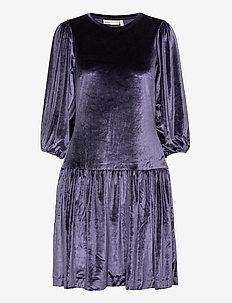 FarylIW Short Dress - midi kjoler - midnight magic