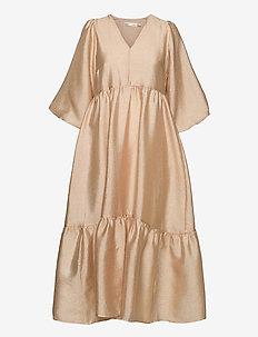YivaIW Dress - sommerkjoler - powder beige