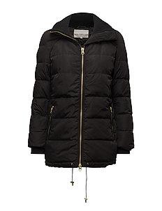 Viola Short Coat OW - BLACK