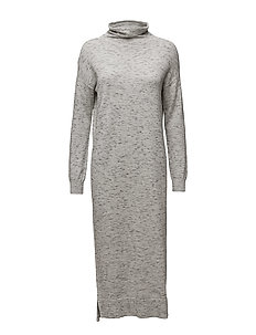 Wiwi Dress KNIT - LIGHT GREY MELANGE