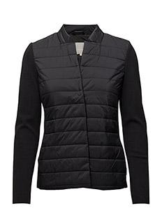 Ceara Short Coat OW - BLACK