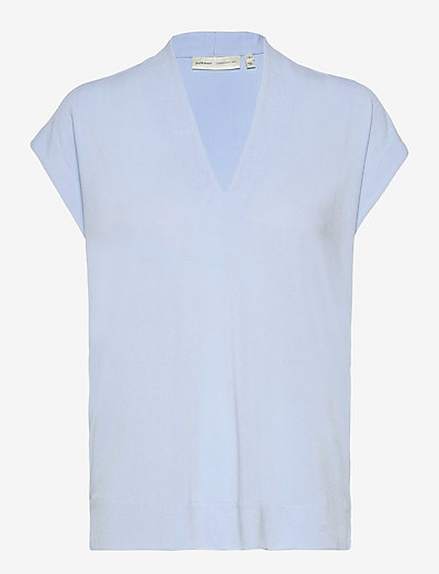 Yamini Top - t-shirt & tops - bleached blue
