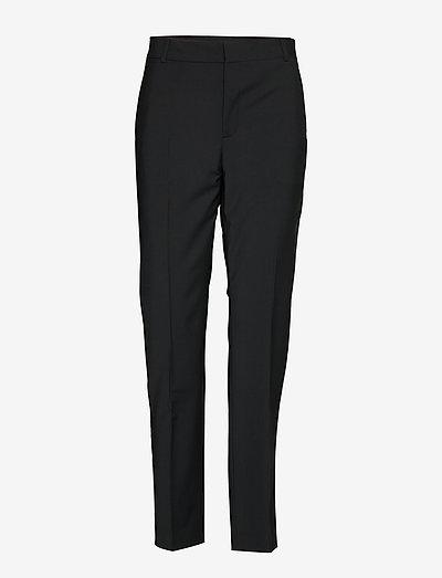 Zala Cigarette Pant - rette bukser - black