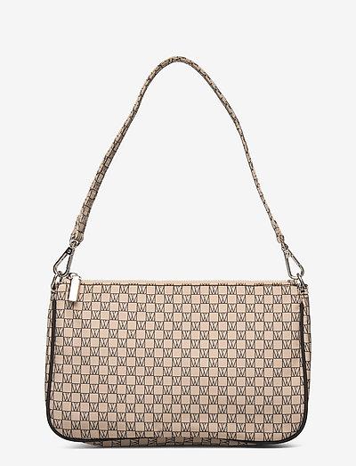 IW Travel Shoulder Bag - sacs à bandoulière - iw logo beige/black