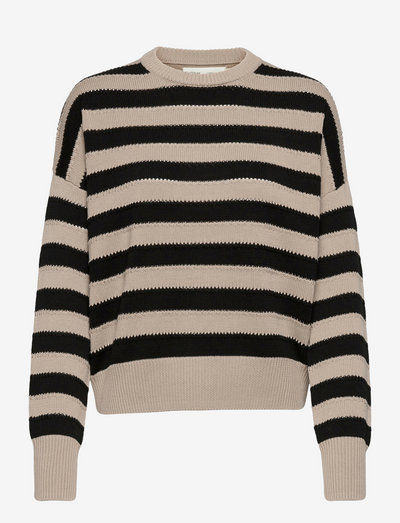 TeklaIW Pullover - gensere - simply taupe