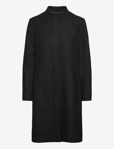 LevannaIW Crew Long-Coat - manteaux legères - black