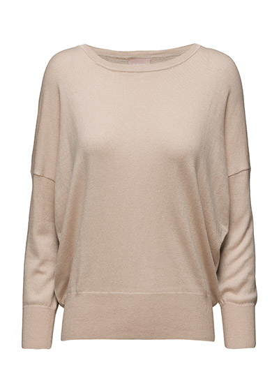 Lua Pullover KNIT - POWDER BEIGE