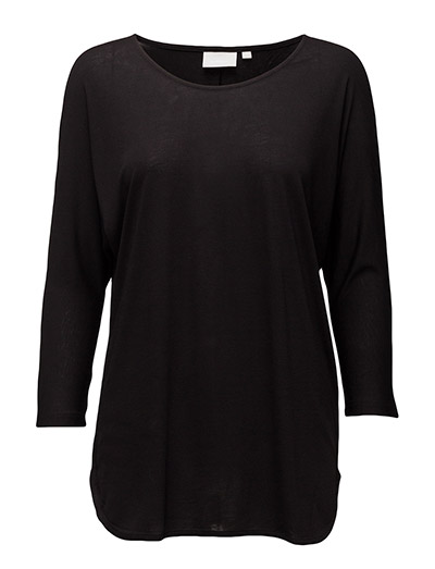 Tova 3/4 sleeve - BLACK