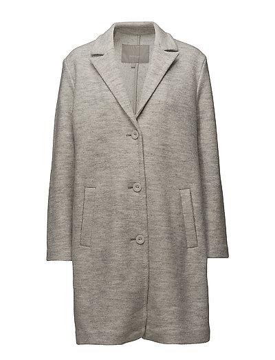 Cardea Coat - NEW LIGHT GREY MELANGE