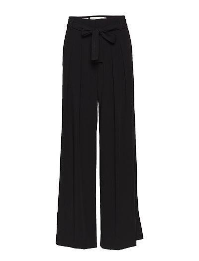 Gerda Wide Pant - BLACK