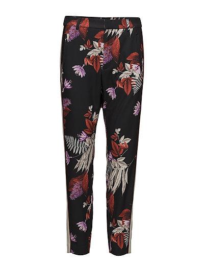 Greer Printed Pant Nica Fit - BOUQUET OF FLOWERS BLACK
