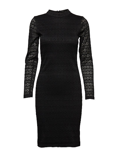 Viona Dress - BLACK