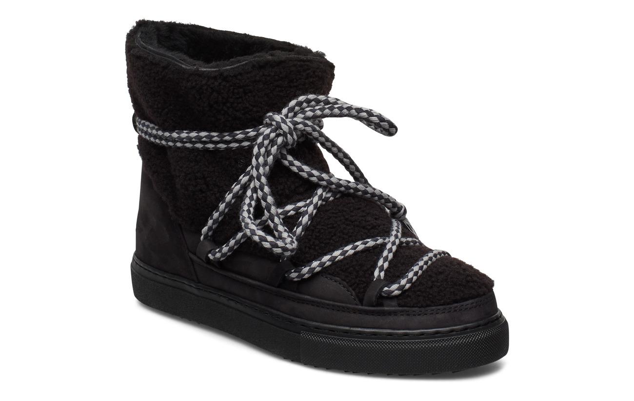 Inuikii Women Sneaker Curly - BLACK