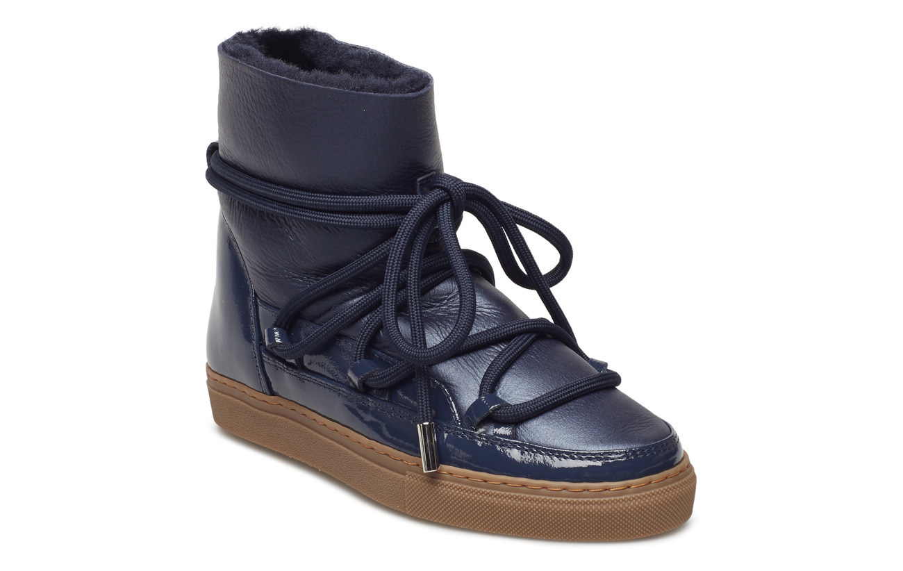 Inuikii Women Sneaker Gloss - NAVY
