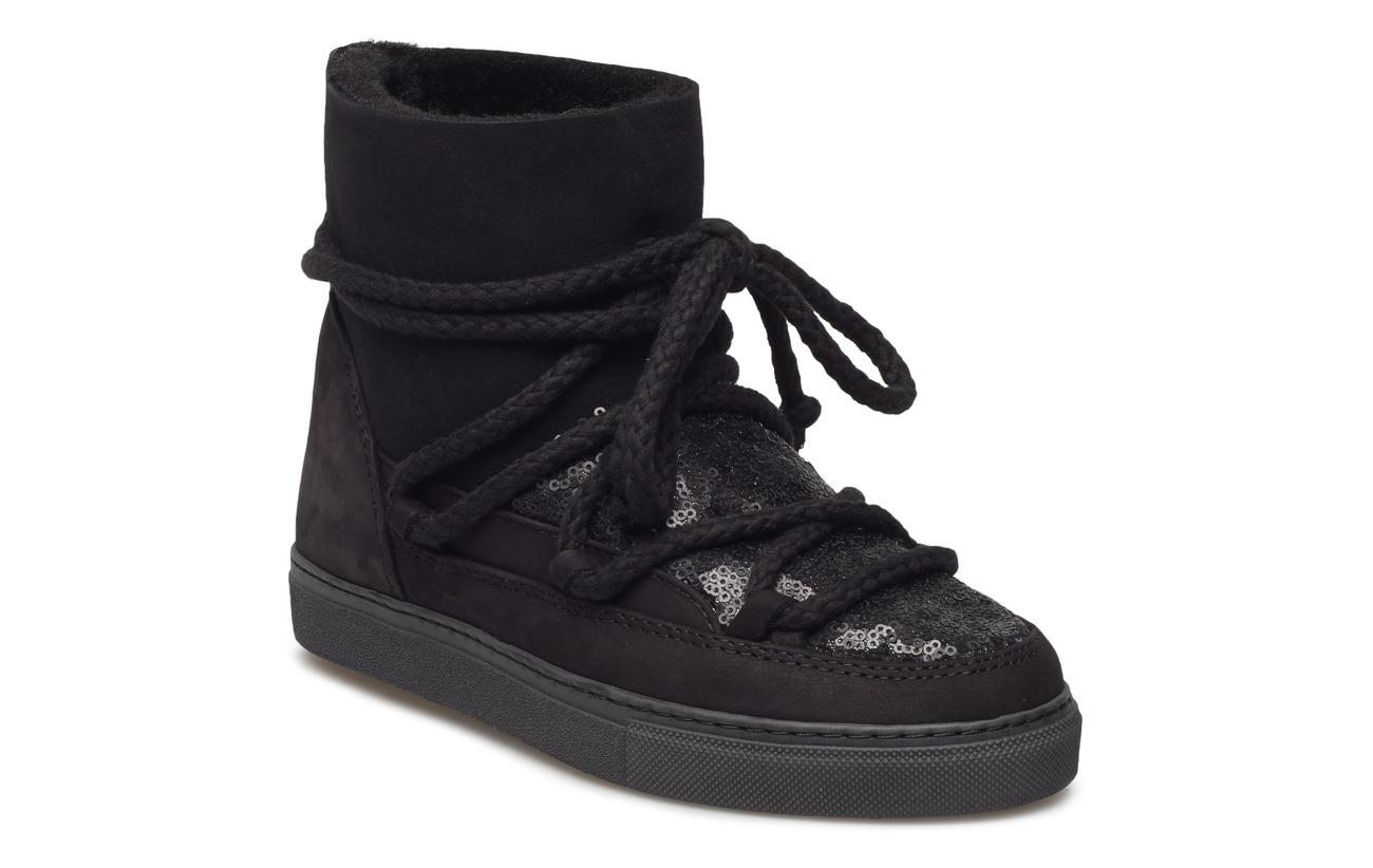 Inuikii Women Sneaker Sequin - BLACK