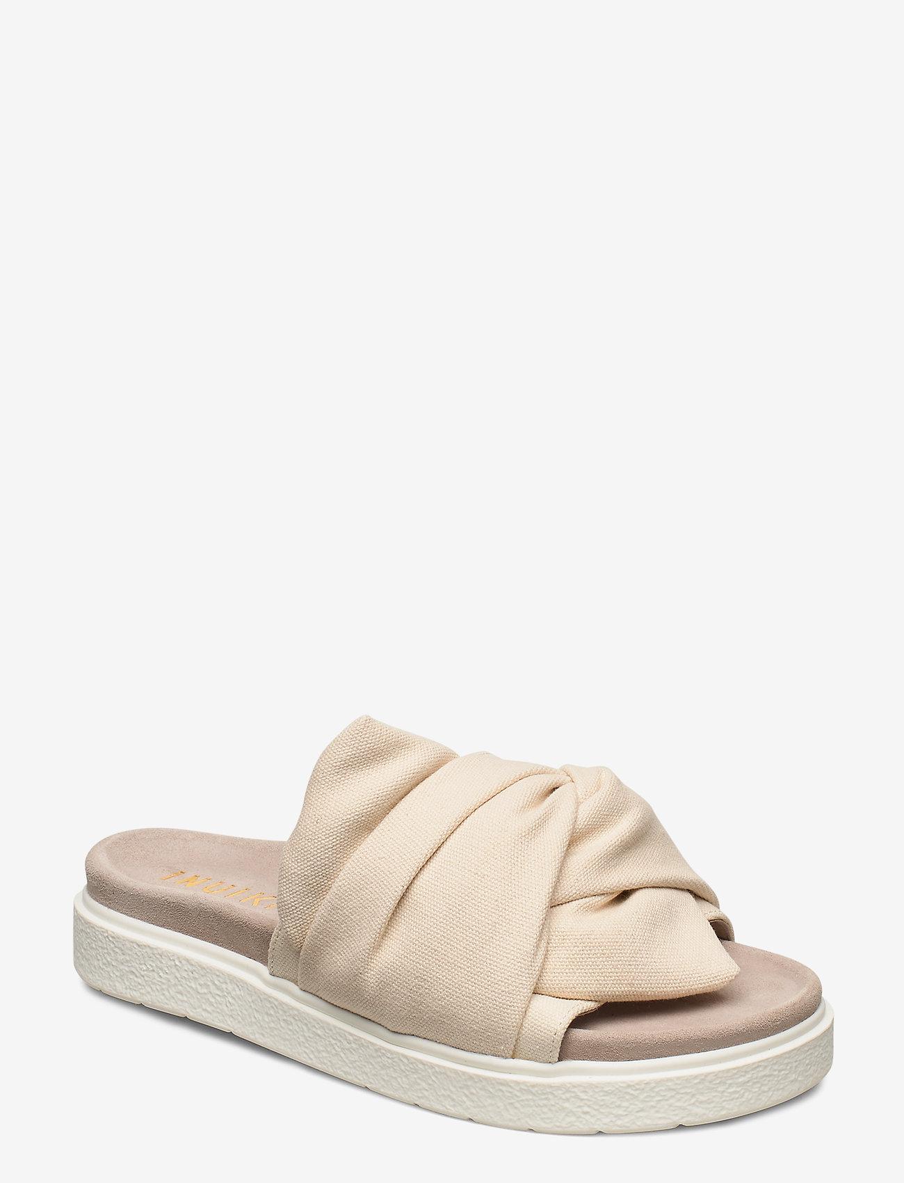 Inuikii - INUIKII Slipper Knot Micro - matalat sandaalit - white