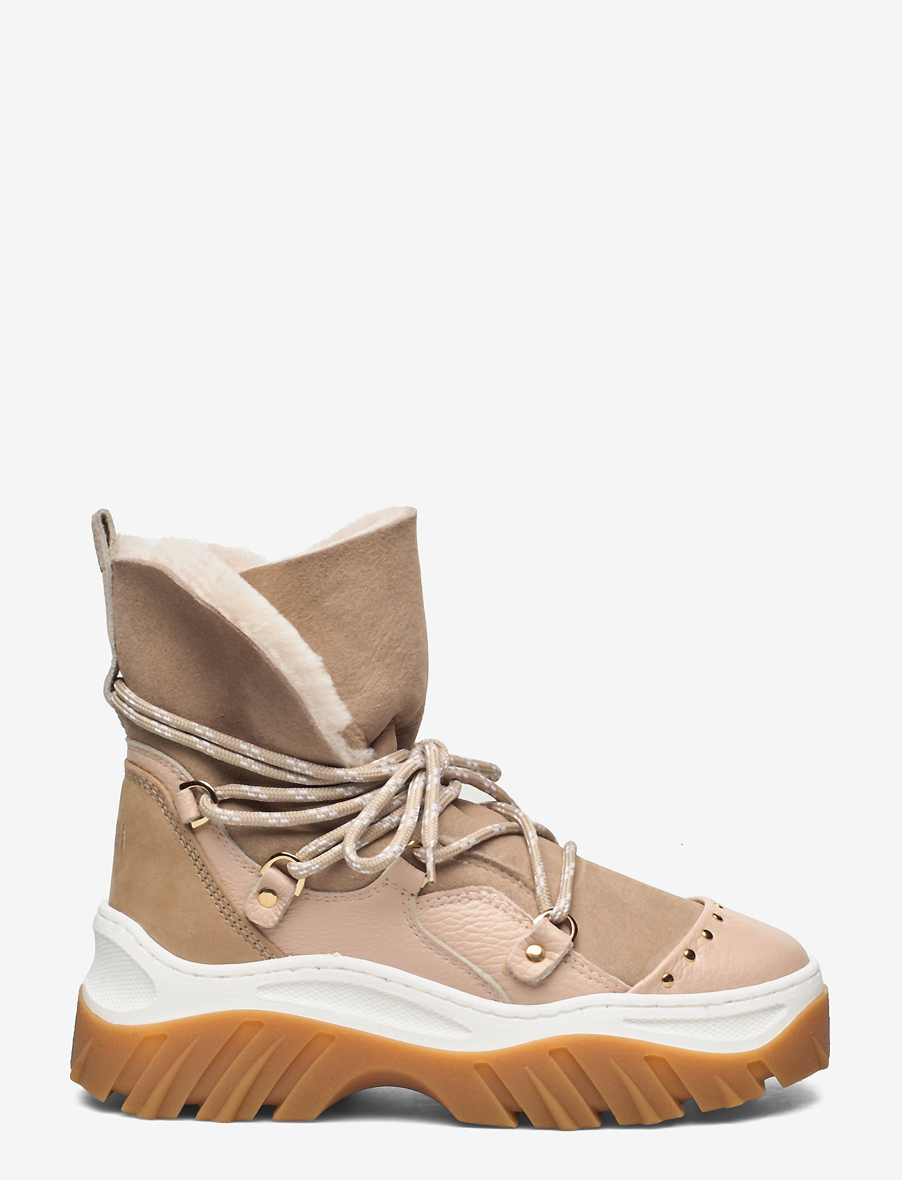 Inuikii - INUIKII Sneaker Trekking - flat ankle boots - beige - 0