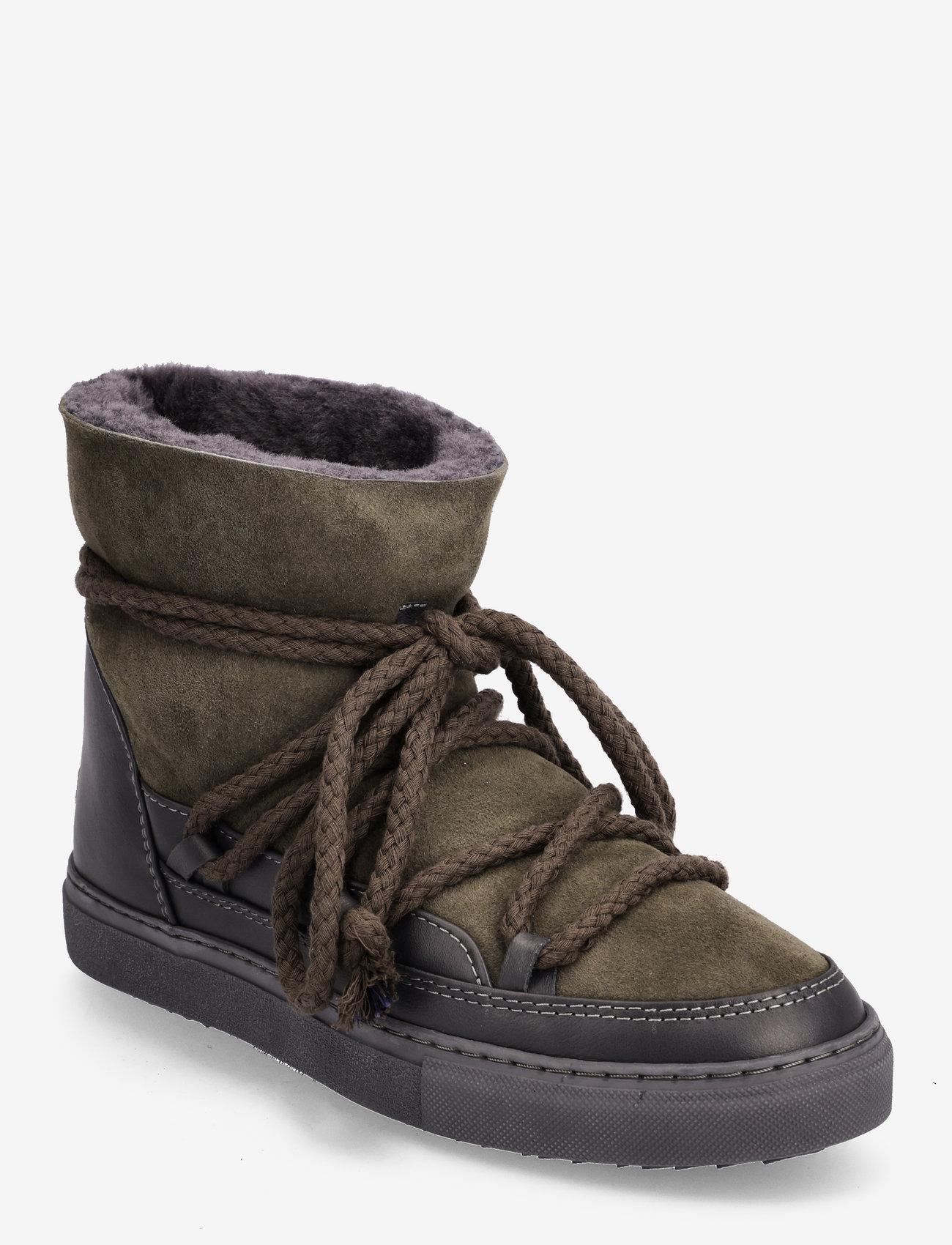 Inuikii - INUIKII Sneaker Classic - flat ankle boots - darkt grey - 1
