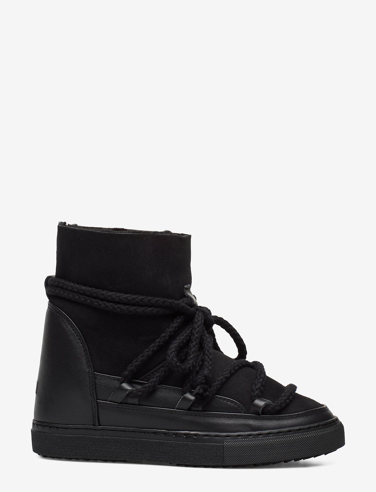 Inuikii - Women Sneaker Classic WEDGE - flat ankle boots - black - 0