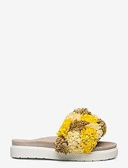 Inuikii - INUIKII Slipper Grass Band - matalat sandaalit - yellow beige - 1