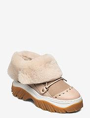 Inuikii - INUIKII Sneaker Trekking - flat ankle boots - beige - 1