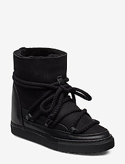 Inuikii - Women Sneaker Classic WEDGE - flat ankle boots - black - 1