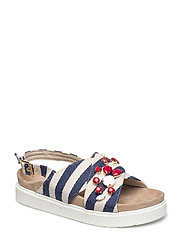 Sandal stripes - BLUE