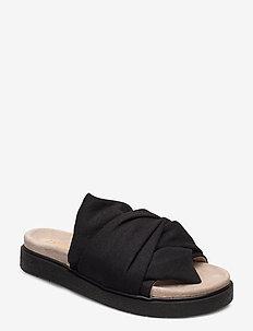 INUIKII Slipper Knot Micro - flate sandaler - black