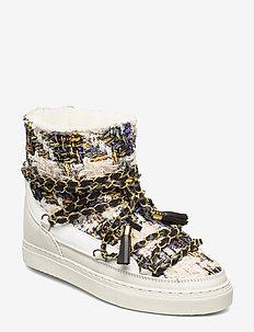 Women Sneaker Engl. Tartan Ch. L. - WHITE