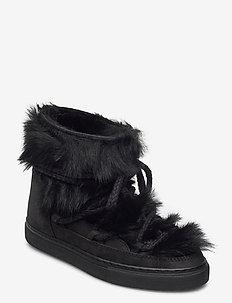 INUIKII Sneaker Toskana - flate ankelstøvletter - black