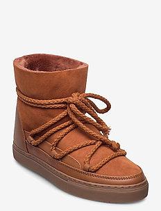 INUIKII Sneaker Classic - flate ankelstøvletter - amber brown