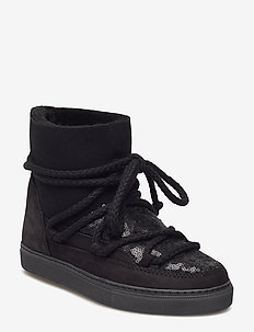 Women Sneaker Sequin - BLACK