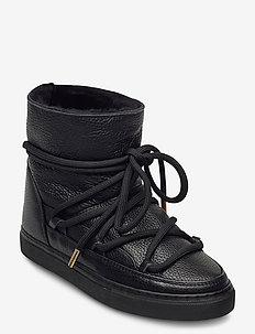 INUIKII Sneaker Full Leather - flate ankelstøvletter - black