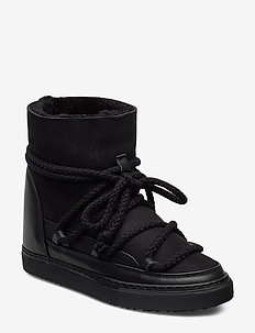 Women Sneaker Classic WEDGE - BLACK