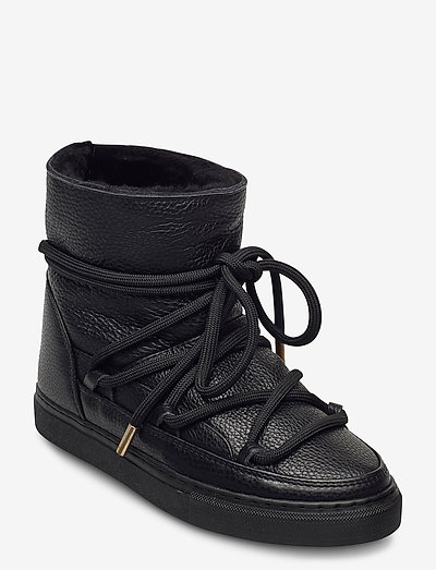 INUIKII Sneaker Full Leather - flat ankle boots - black