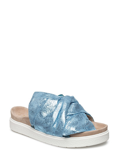 Slipper Knot leather - BLUE