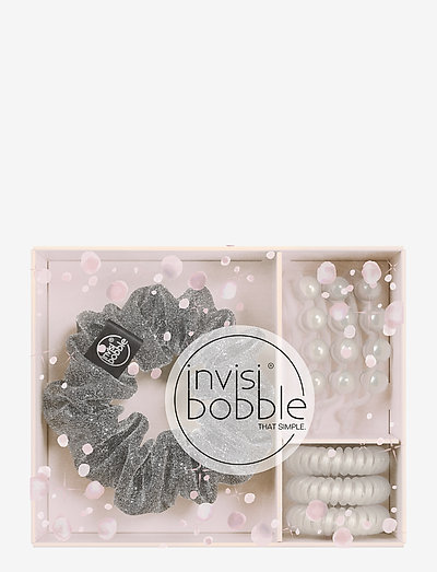 invisibobble Sparks Flying Trio - håraccessoarer - clear
