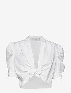 MOHANA - kortærmede bluser - white
