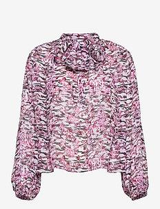 VIBRANCY - langærmede bluser - multico pink