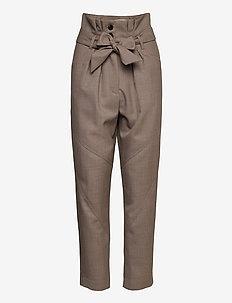 ALPER - rette bukser - taupe