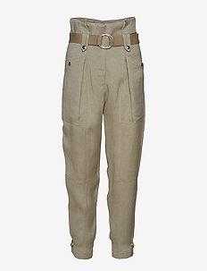 MOHON - rette bukser - khaki