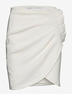 PAULINE - korte nederdele - white