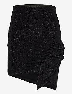 ZILKA - korta kjolar - black lurex