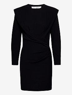 BECKETT - midi kjoler - black