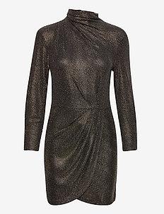 RASILE - korta klänningar - black/gold